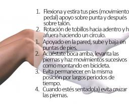 Cuidando la salud de nuestras piernas